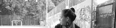 (effy.photo.) Tags: blackandwhite white black girl graffiti alone smoke pipe lny fst egyedl magny vizipipa
