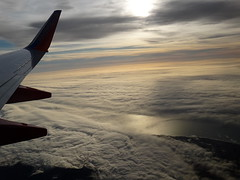 Window view... () Tags: vacation sky holiday southwest clouds plane airplane coast fly inflight aircraft altitude flight wing jet overcast aerial windowview boeing winglet rtw aereo sancarlos airliner pacificcoast vacanze avion 737 southwestairlines wingtip kalifornien roundtheworld californie globetrotter airplanewing areo jetwing boeing737  worldtraveler   californi ario      12312011