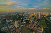 Singapore CityScape from UOB Plaza