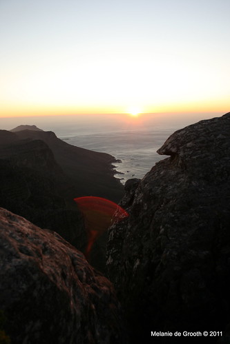 Sunset on Table Mountain 6