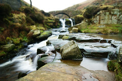 River Dane. (sidibousaid60) Tags: waterfall cheshire bokeh derbyshire cascade staffordshire neutraldensity threeshireshead riverdane nearbuxton