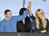 Kirk Norcross, Nicola McLean Celebrity Big Brother Live Final held at Elstree Studios. London, England