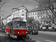 Tram (alberto_d) Tags: europa europe czech prague prag praha praga czechrepublic bohemia vltava evropa moldava bhmen boemia bohme