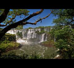 The Many Mighty Falls of Iguazu (Argentina) (departing(YYZ)) Tags: travel latinamerica southamerica argentina forest landscape waterfall nikon sigma falls jungle tropical dslr 1770 iguazu 2012 yyz departing iguazufalls sudamrica d90 amricadelsur f2840 departingyyz