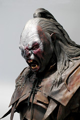 The White Hand (Soldisee) Tags: film costume model display leeds lotr goblin figure orc tolkein armouries