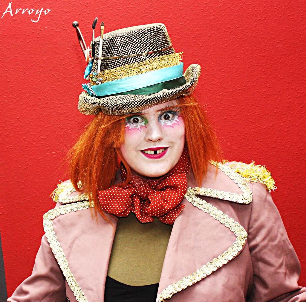 Sombrerera Loca (Patricia Arroyo) Tags  halloween carnavales maquillaje  caracterización sombrereroloco 3ac3175d7d9