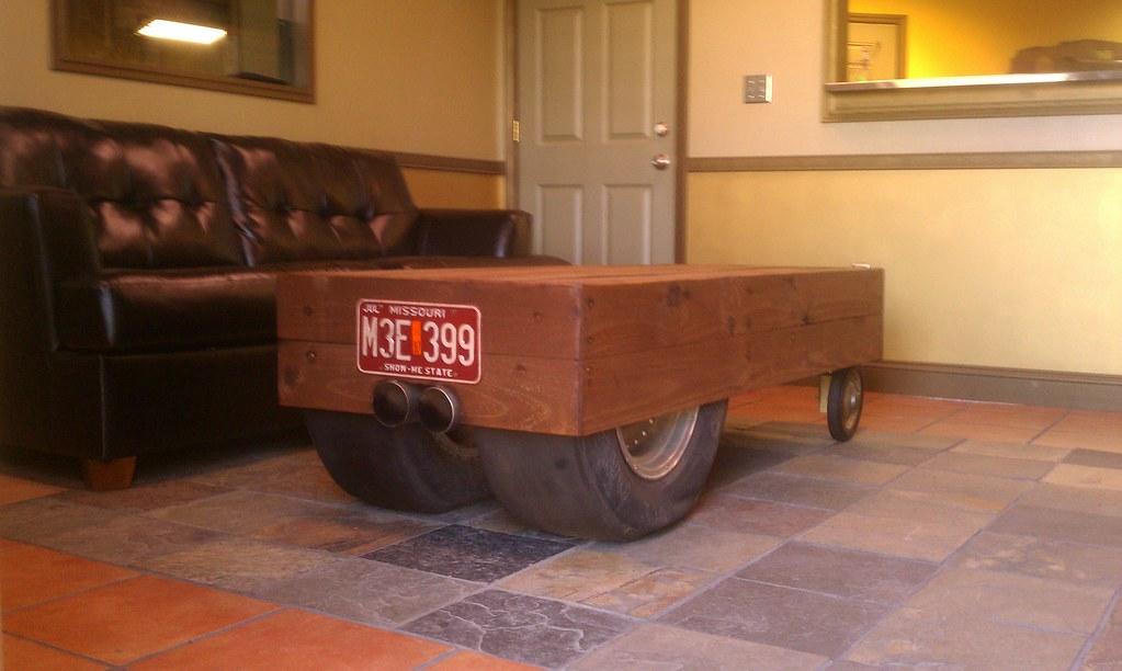 Hot Rod Rat Rod Coffee Table (craigmack068) Tags: Street Wood Hot Coffee  Race