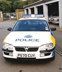 HERTS POLICE TRAFFIC OMEGA (NW54 LONDON) Tags: traffic vauxhallomega hertfordshirepolice