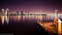 San Diego [Explored 02/08/12] (Eddie 11uisma) Tags: california travel vacation night canon golden san long exposure cityscape diego filter hour nd 5d coronado waterscape cokin zpro