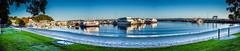 Nelson Bay Marina Panorama (Gil Feb 11) Tags: marina australia newsouthwales nelsonbay portstephen canon5dmkiii