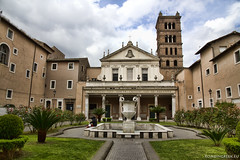 """Basilica di Santa Cecilia in Trastevere • <a style=""""font-size:0.8em;"""" href=""""http://www.flickr.com/photos/89679026@N00/13804919903/"""" target=""""_blank"""">View on Flickr</a>"""