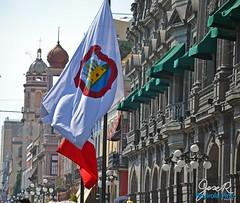 Bandera Angelopolitana (JoseR RP) Tags: mxico de la centro puebla humanidad patrimonio