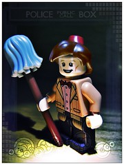 Demons Run When A Good Man Goes To War (LegoKlyph) Tags: lego 11 fez doctorwho bbc tardis custom mop eleven timelord