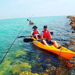 From Bahrain @yaradasports thanks for the post! 😁👍👍👍👍 #MalibuKayaks #Kayak #outdoors #adventure #picoftheday #bahrain