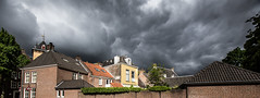 Threatening skies over Den Bosch (Rens Bressers) Tags: old city building architecture canon buildings eos den historical brabant bosch stad shertogenbosch hertogenbosch noordbrabant noord 6d historische