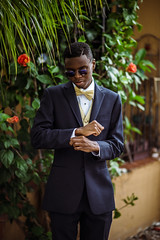 Prom '2016 (DeniseLives) Tags: flowers boy people male guy nature sunglasses nikon florida miami graduation 85mm naturallight highschool suit prom tux natty nattylight 85mm18 nikond600 prom2016