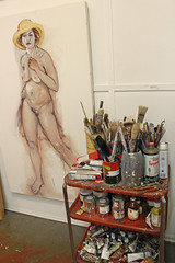 Ann Curran Turner (skipmoore) Tags: art painting artist brushes sausalito paints icb winteroipenstudios anncurranturner