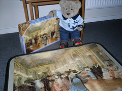 D'ya wanna dance? (pefkosmad) Tags: bear ted men art painting toy dance stuffed women soft dancing teddy deluxe victorian fluffy hobby plush puzzle falcon leisure jigsaw complete pastime 1000pieces victorgabrielgilbert tedricstudmuffin elegantball