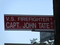 Valley Stream NY  Fire Capt.  John Tate Way (Lynch Mobs) Tags: ny john way fire stream tate valley capt