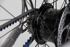 Firefly_Rohloff_Speedhub_Detail (Cycle Monkey USA) Tags: commuter biketowork titanium firefly dynamo rohloff bikelife rohloffspeedhub supercommuter