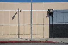 Jefferson Blvd (Alec C Miller) Tags: street city shadow urban color building art digital photography los industrial cityscape angeles fine minimal
