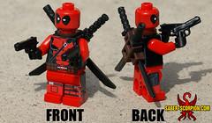 CHIMICHANGA! (Saber-Scorpion) Tags: comics lego xmen superhero mutant minifig superheroes marvel moc mercenary minifigures deadpool brickarms