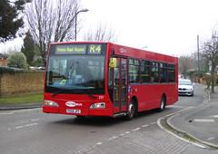 GAL MB 231 - PO56JFF - NSF - ST MARY'S CRAY - TUE 15TH MAR 2016 (Bexleybus) Tags: street london ahead st high go east marys dennis dart cray metrobus esteem lancs adl 231 orpington goahead po56jff