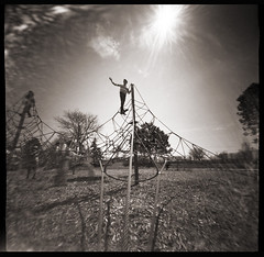 Playground # 5 (WPPD) (DRCPhoto) Tags: world photography day kodak pinhole t400cn 2016 wppd ondu
