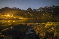 Notte al lago (Mauro_Amoroso) Tags: lake nature night star nikon nationalgeographic waterscapes natgeo nital nikonlandscape malciaussia nikonitalia lagomalciaussia igerspiemonte igpiemonte igpiedmont volgopiemonte mauroamorosoadventures