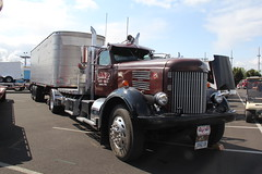 ATHS National 2016 (34) (RyanP77) Tags: aths truck show salem oregon peterbilt kw kenworth logger cabover pete freightliner marmon dump semi