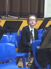 Clarinet Ready (Dark Dwarf) Tags: school kids children concert orchestra clarinet 2016