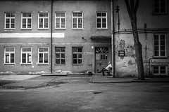 (Pavel 'PAshaRome' Vavilin) Tags: blackandwhite street candid monochrome