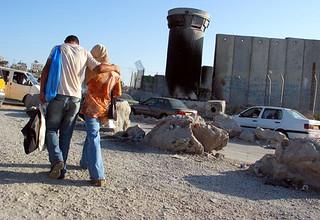 Checkpointet Ramallah - Jerusalem: Qalandiya
