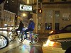 Lit up Schwinn (jjlthree) Tags: winter snow chicago bike bicycle ride mass critical ccm