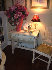 Desk After (Clif Creations) Tags: junk furniture painted cottage thrift chic recycle shabby redo