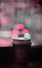 Just rain (F l S f a h .. ) Tags: rain coffe