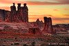 A Word about Sunset (James Neeley) Tags: sunset landscape arches geology archesnationalpark hdr fins f12 rockformation threegossips 5xp jamesneeley flickr23