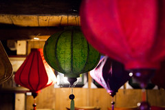 Vietnamese Lampshades and Cobwebs (Joe Fenton) Tags: lighting trekking colours indoor vietnam tribes lamps spidersweb cobwebs sapa hilltribes lampshades vietnameselamps