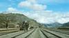 SGS 2471 Landikotal Stn. 10.3.78 (George of Dufton) Tags: pakistan landikotal scenic landscape railwaystation steamloco passengertrain 1978 people pr sgs 060 2471 pakistanrailway