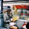 a lady (Twiggy Tu) Tags: trip portrait paris france film metro contaxt3 2011 carlzeisssonnart35mmf28 1q84