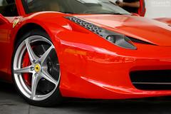 Ferrari 458 Italia (Ed Cunha Ph) Tags: cars car brasil italia automotive ferrari curitiba carros carro rosso scuderia av 2012 exotics supercars 458 2011 batel