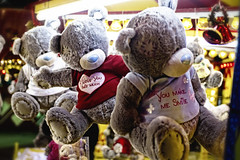 I Love You This Much ! (virtual_tony2000) Tags: bear christmas xmas uk love wales holidays teddy britain cardiff fair welsh prizes teddies funfair iloveyouthismuch youmakemesmile cardiffwinterwonderland canon7d