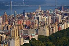 George Washington Bridge (Thomas Roland) Tags: park new york city travel bridge usa by america george washington nikon view manhattan central center tourist midtown rockefeller topoftherock udsigt rejse copyrightthomasroland