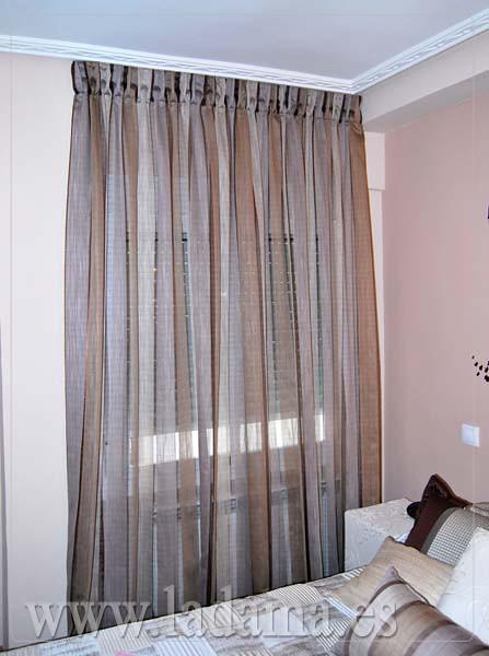 Fotograf as de cortinas en salones modernos la dama for Cortinas para dormitorios de matrimonio modernas