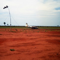 Airport at Murchison Falls National Park