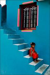 A Cutie In Steps (wishvam) Tags: madurai yaanaimalai nikond5100