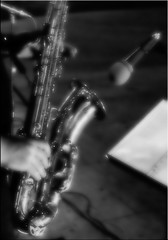 notte bianca (AntonioRusso) Tags: jazz sax blackjazz