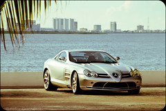 Mercedes-Benz SLR McLaren (Petar Gachevski Automotive) Tags: slr sports car mexico riviera maya super exotic german mclaren mercedesbenz l british cancun sliver 54 coupe v8 amg supercharged