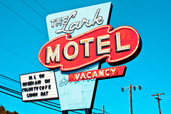 This Life of Ours (Thomas Hawk) Tags: california usa neon unitedstates unitedstatesofamerica motel mendocino willits mendocinocounty thelarkmotel