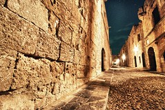The Knight's Passage (Christophe_A) Tags: road old longexposure night town nikon published tripod medieval wdc greece knights knight christophe passage rhodes 30sec manfrotto d90 whatdigitalcamera tokina116 christopheanagnostopoulos tokina1116atxpro medievalescapeproject χριστοφοροσαναγνωστοπουλοσ χριστόφοροσαναγνωστόπουλοσ